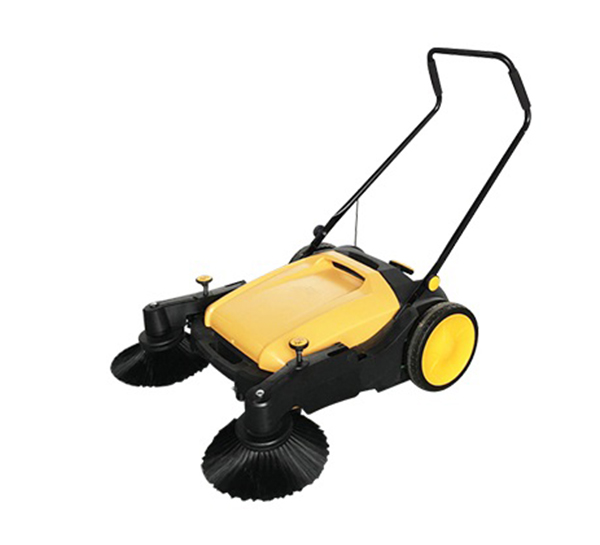 蛮汉手推式无动力扫地机